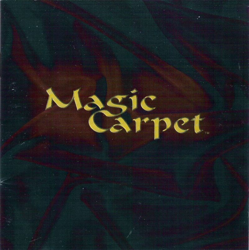 Magic Carpet DOS Other Jewel Case - Front