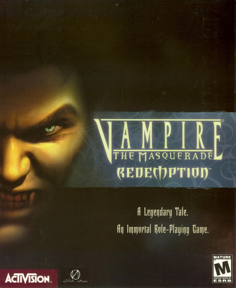 Vampire: The Masquerade - Redemption Windows Front Cover