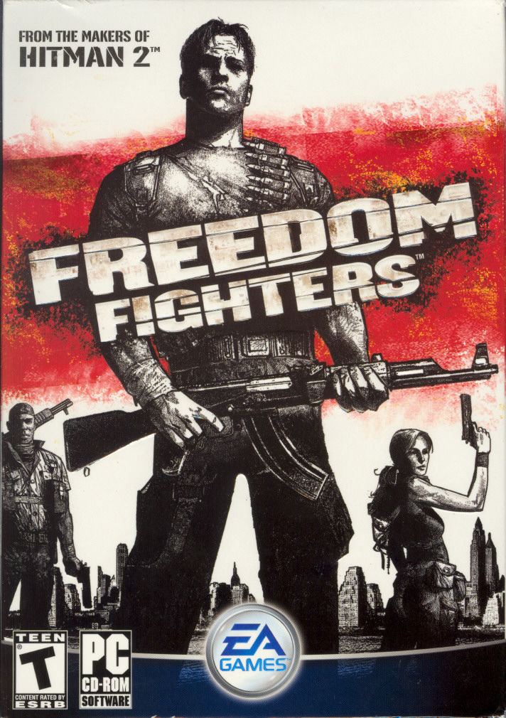 Freedom Fighters Windows Front Cover