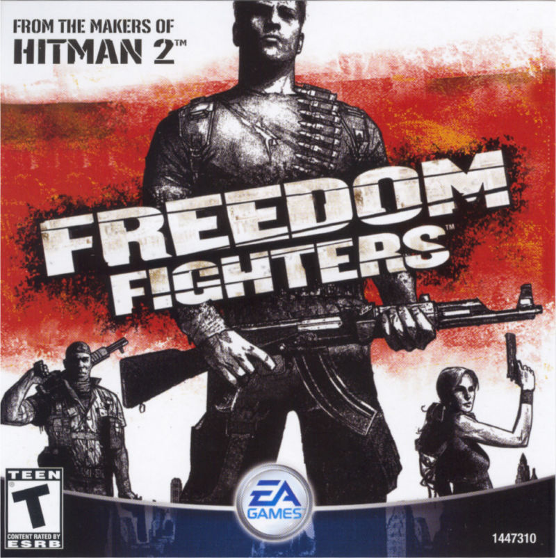 Freedom Fighters Windows Other Jewel Case - Front