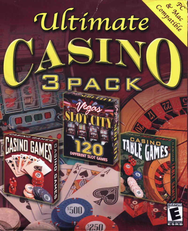 Ultimate Casino 3 Pack Macintosh Front Cover