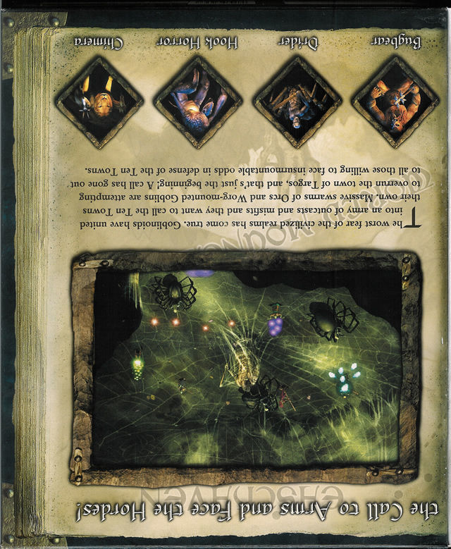 Icewind Dale II Windows Inside Cover Right Flap