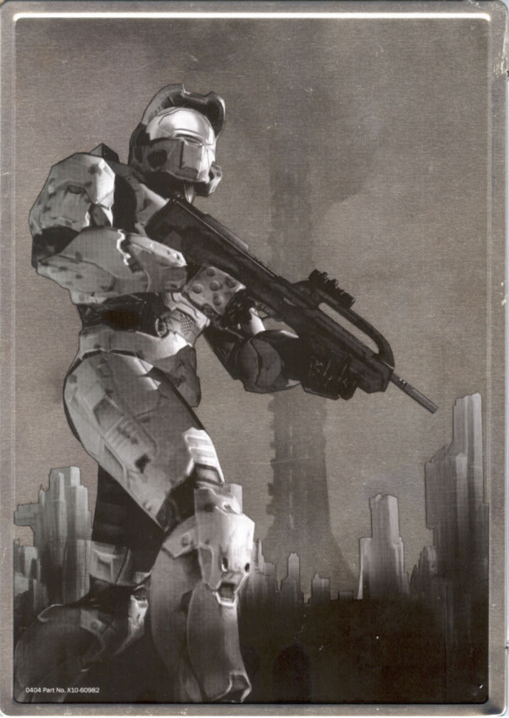 Halo 2 (Limited Collector's Edition) Xbox Back Cover