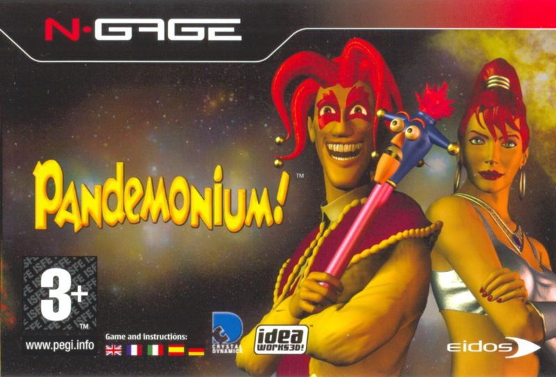 Pandemonium! N-Gage Front Cover