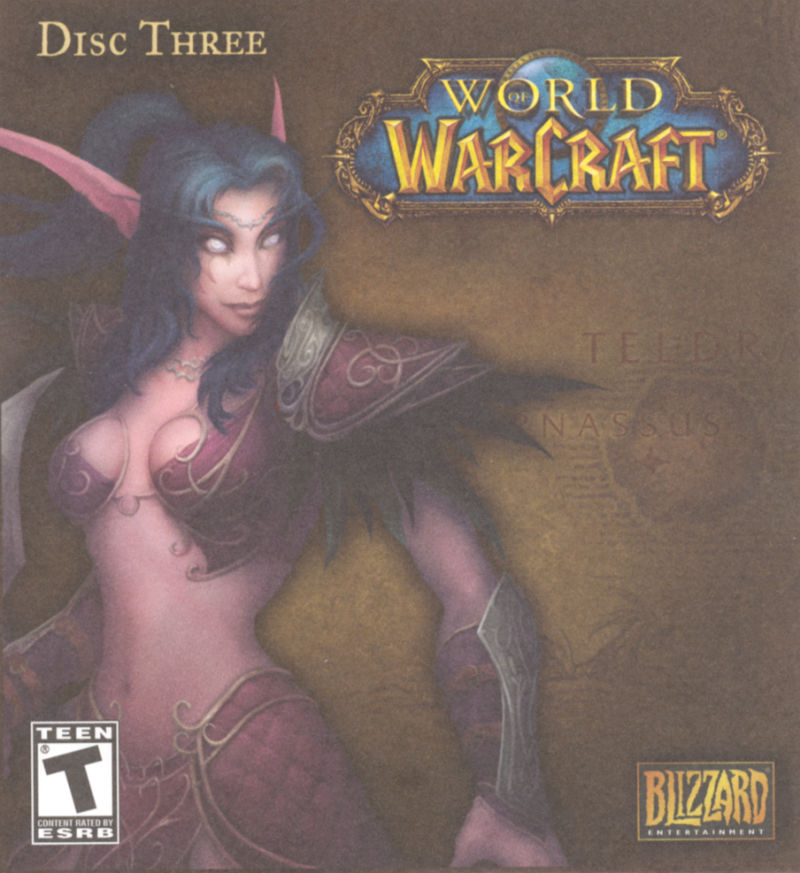 World of Warcraft Macintosh Other CD Sleeve - Front (Disc 3)
