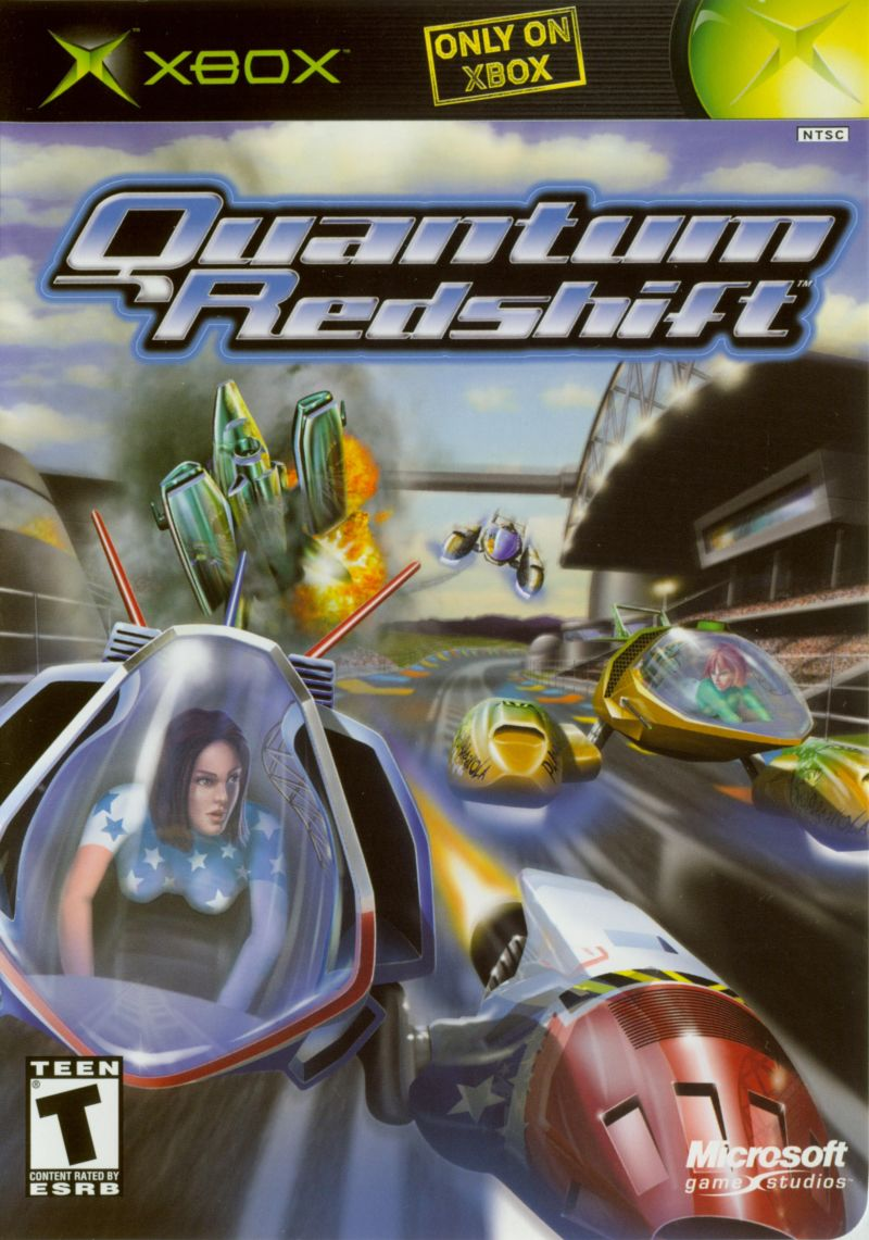 Quantum Redshift Xbox Front Cover