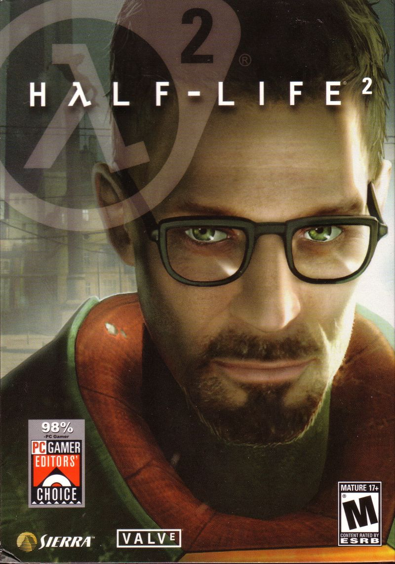 Half-Life 2 Windows Front Cover