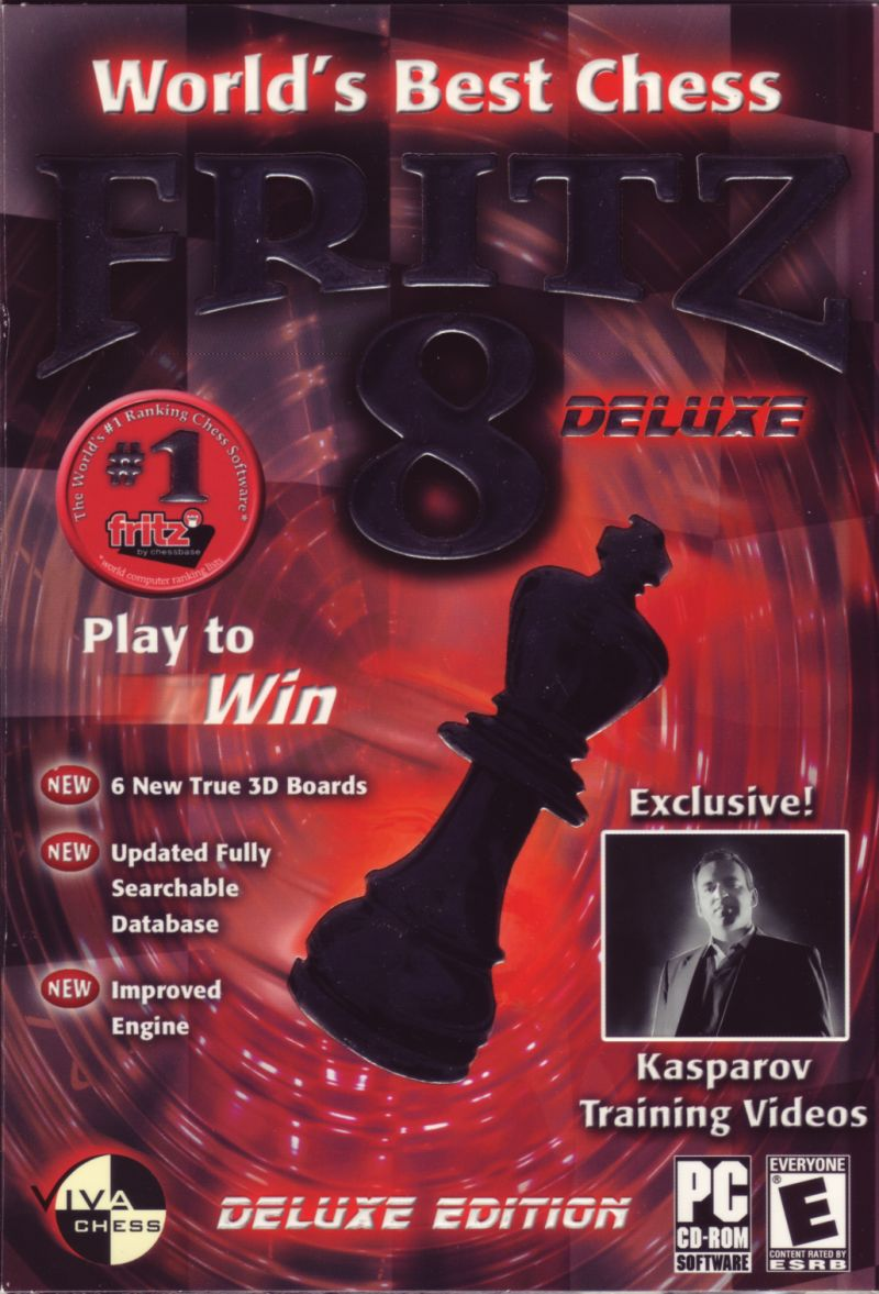 World's Best Chess: Fritz 8 Deluxe Windows Front Cover
