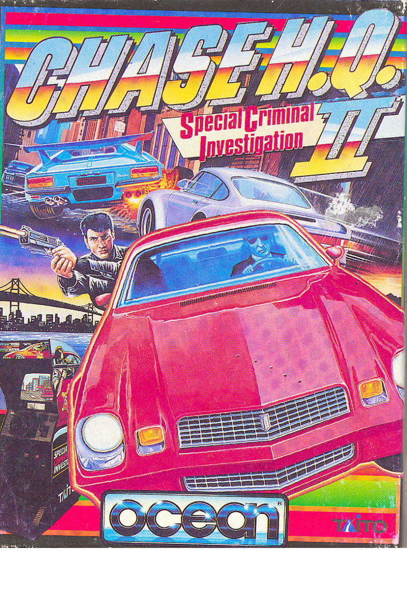 Chase H.Q. II: Special Criminal Investigation ZX Spectrum Front Cover