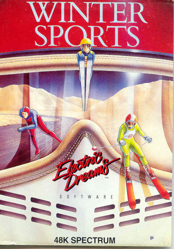 Winter Sports ZX Spectrum Front Cover