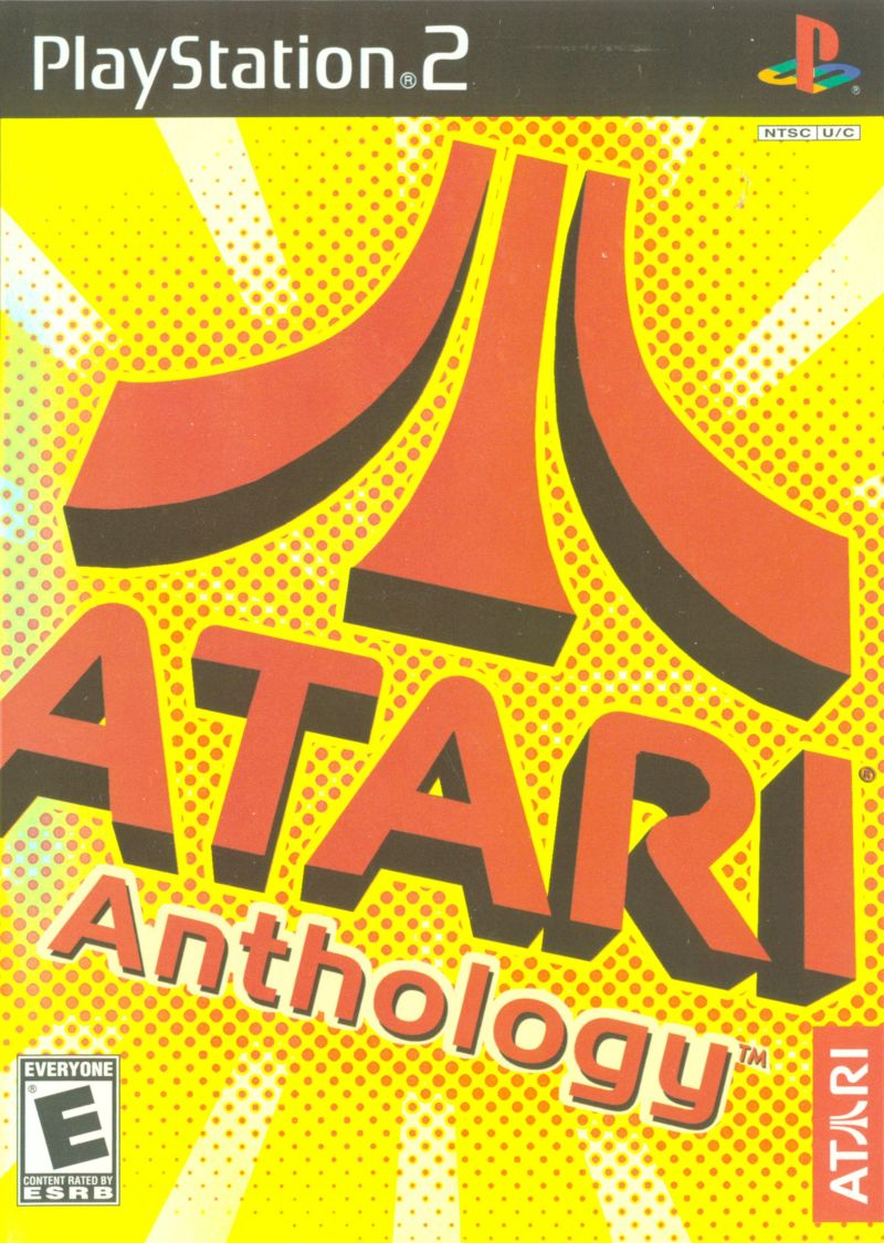 Atari: 80 Classic Games in One! PlayStation 2 Front Cover