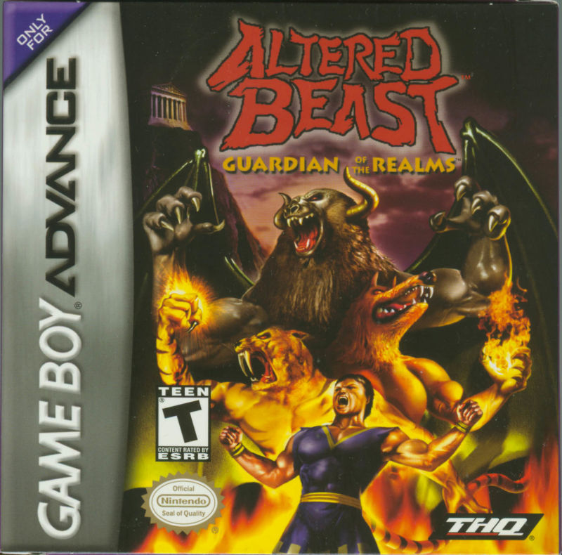 Altered Beast: Guardian of the Realms Game Boy Advance Front Cover