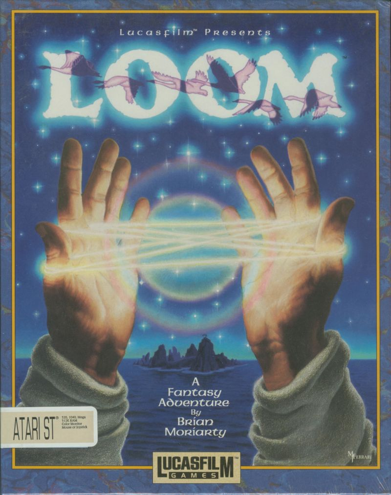 Loom Atari ST Front Cover