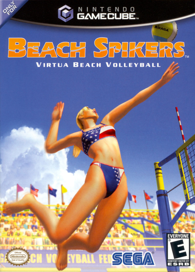 Beach Spikers: Virtua Beach Volleyball GameCube Front Cover