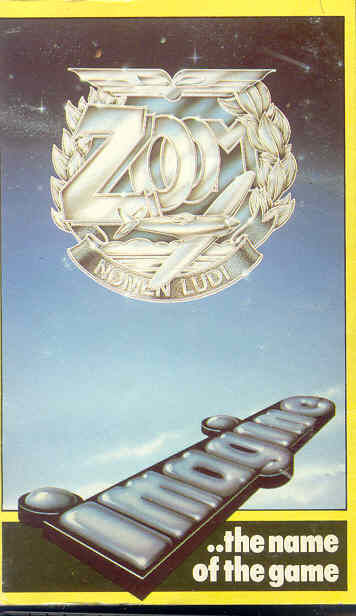 Zzoom ZX Spectrum Front Cover