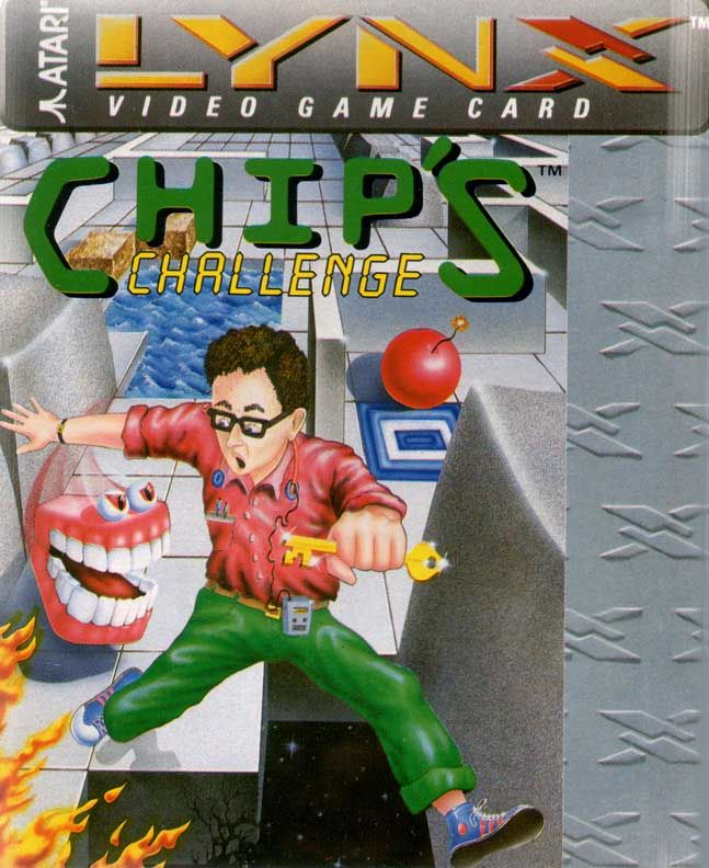 Chip's Challenge Lynx Front Cover