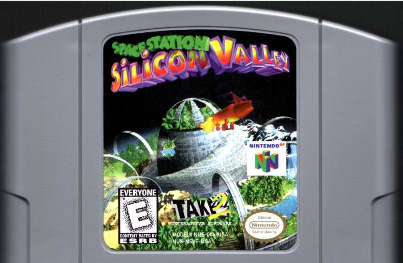 Space Station Silicon Valley Nintendo 64 Media