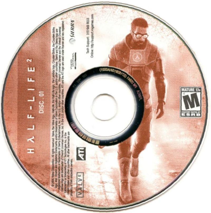 Half-Life 2 Windows Media Disc 1/5