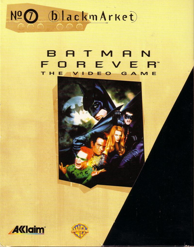 Batman Forever DOS Front Cover