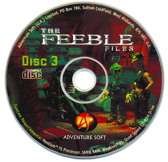 The Feeble Files Windows Media Disc 3