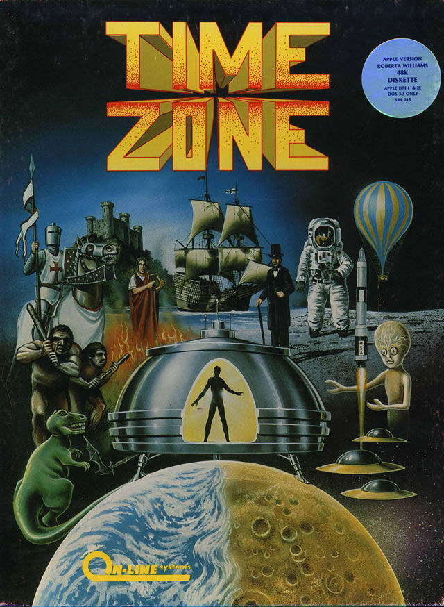 Time Zone Apple II Front Cover