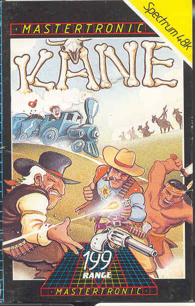 Kane ZX Spectrum Front Cover