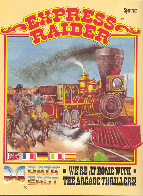 Express Raider ZX Spectrum Front Cover