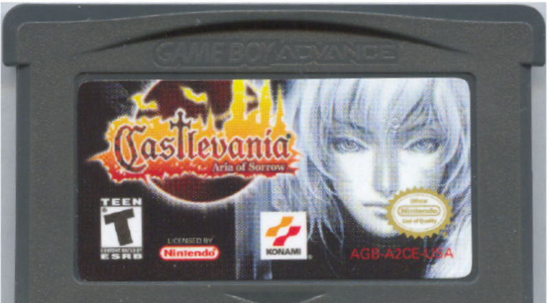 Castlevania: Aria of Sorrow Game Boy Advance Media