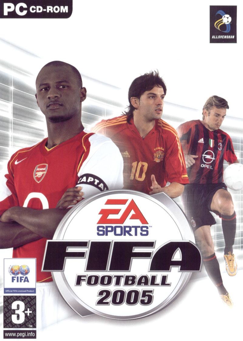 FIFA Soccer 2005 Windows Front Cover
