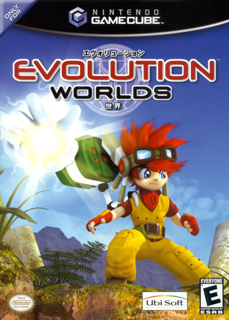 Evolution Worlds GameCube Front Cover