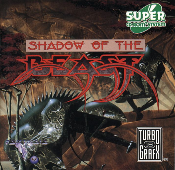 Shadow of the Beast TurboGrafx CD Front Cover