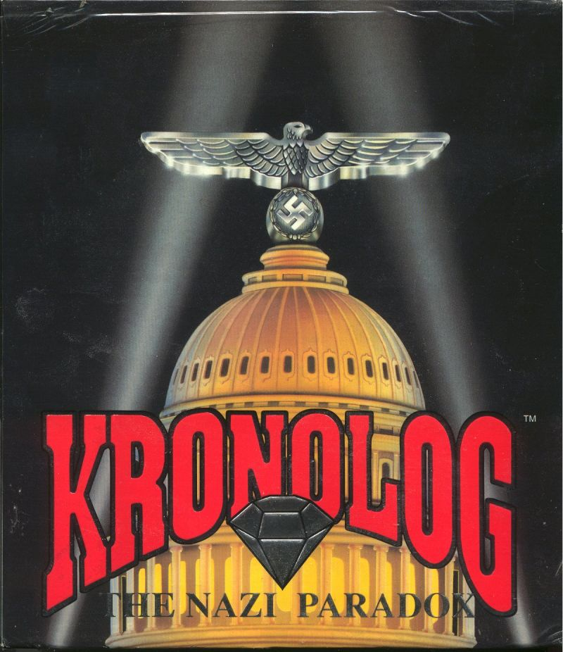 Kronolog: The Nazi Paradox DOS Front Cover