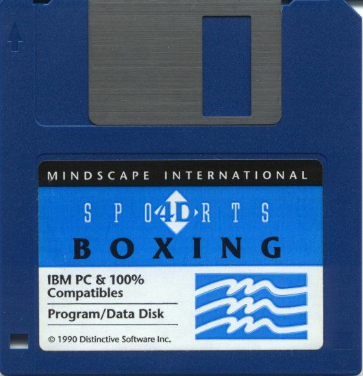 4-D Boxing DOS Media