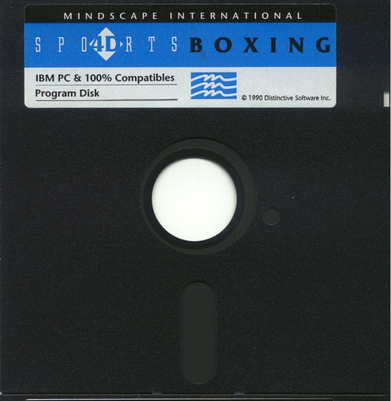 4-D Boxing DOS Media Disk 1/2