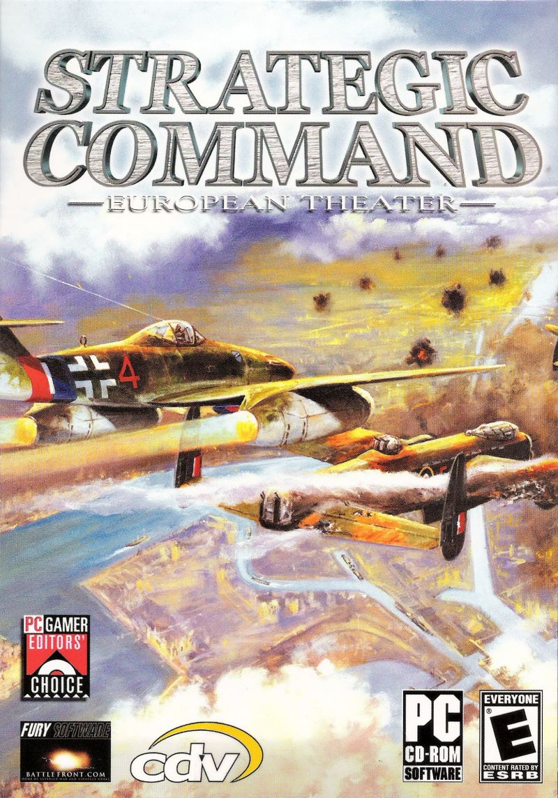 Strategic Command: European Theater Windows Front Cover