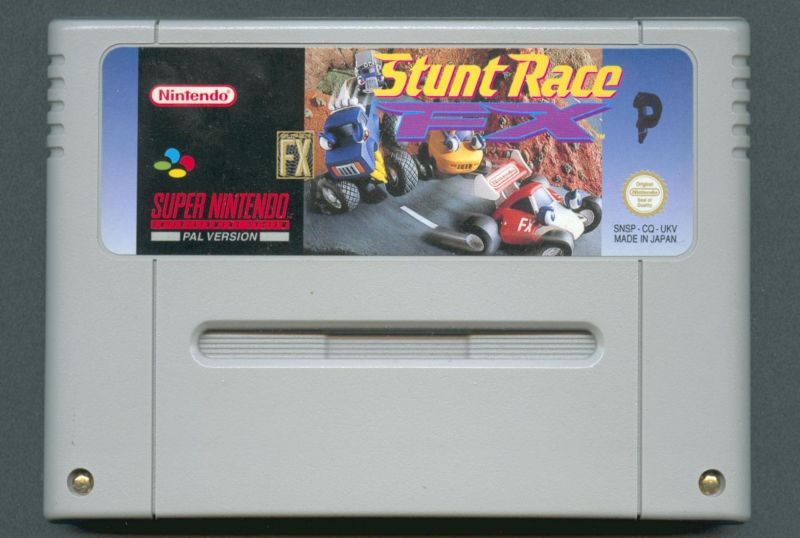 Stunt Race FX SNES Media