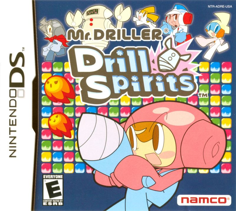 Mr. DRILLER: Drill Spirits Nintendo DS Front Cover