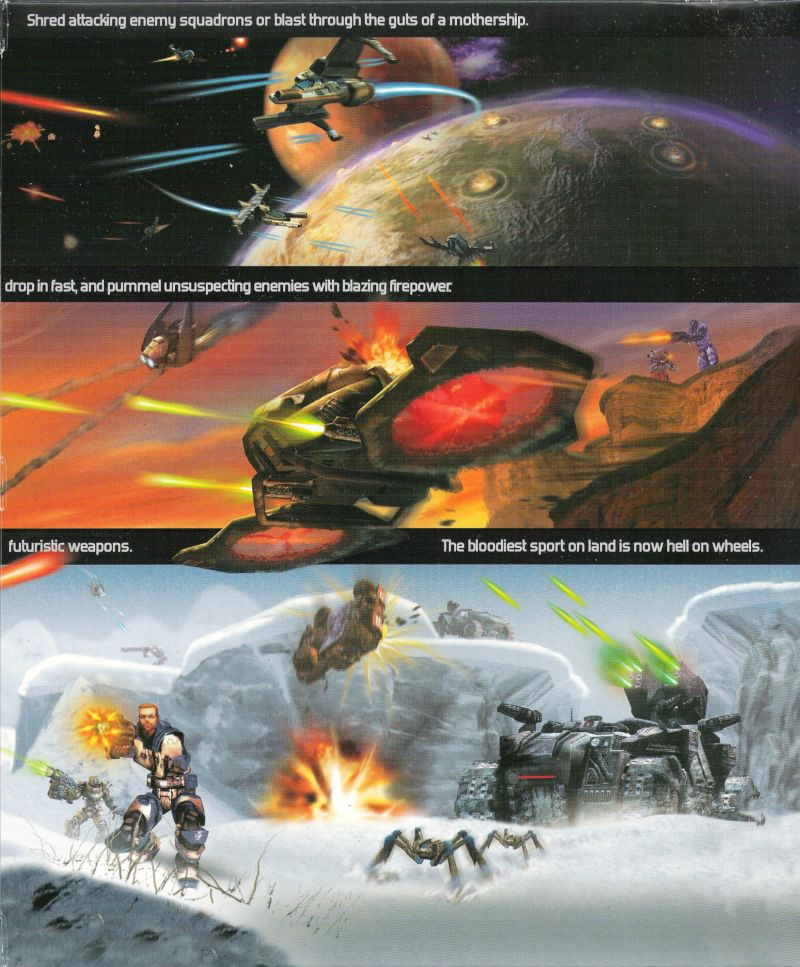 Unreal Tournament 2004 Linux Inside Cover Right