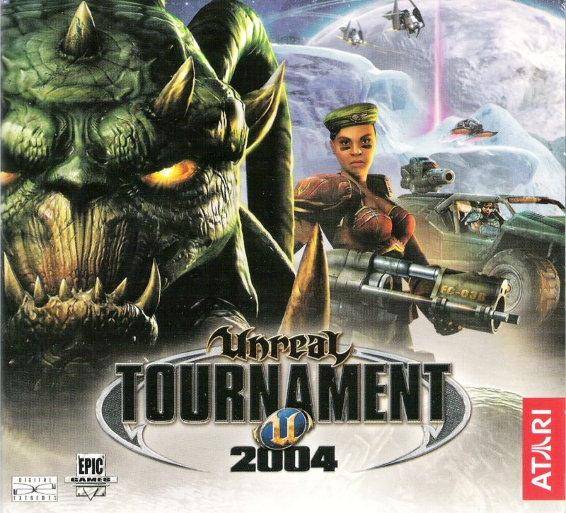 Unreal Tournament 2004 Linux Other CD Holder - Front Cover