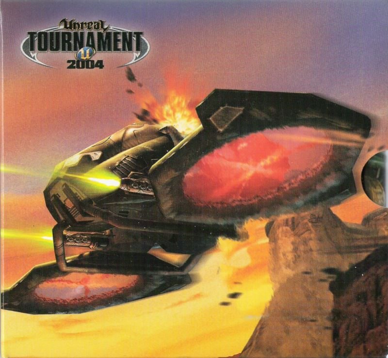 Unreal Tournament 2004 Linux Other CD Holder - Inside Cover - Right