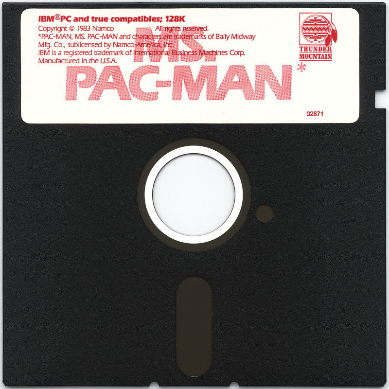 Ms. Pac-Man PC Booter Media
