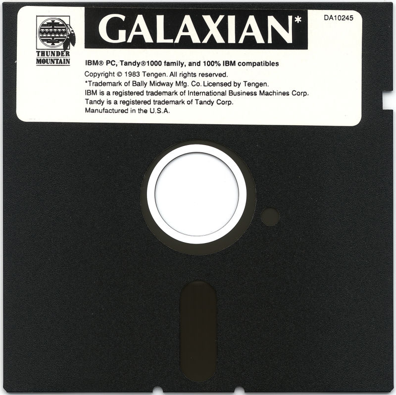 Galaxian PC Booter Media