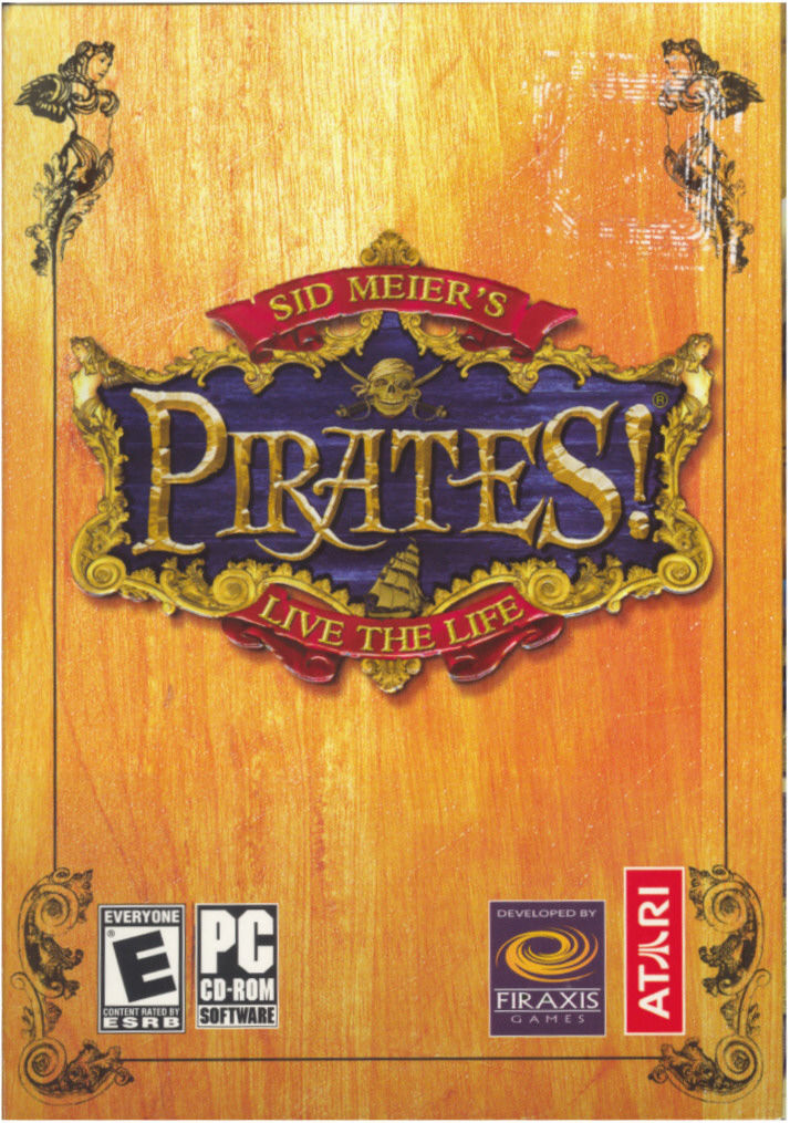 Sid Meier's Pirates! Windows Front Cover
