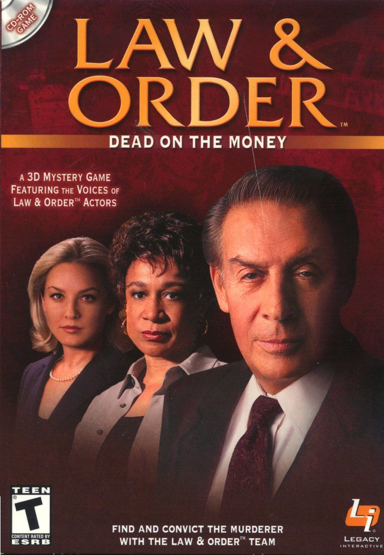 Law & Order: Dead on the Money Windows Front Cover