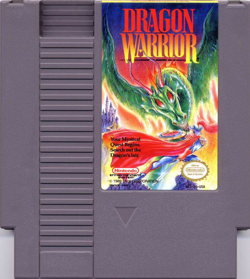 Dragon Warrior NES Media