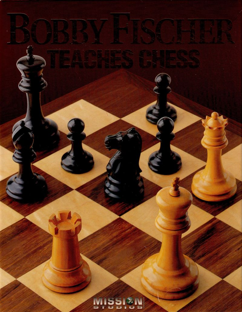 Bobby Fischer Teaches Chess DOS Front Cover
