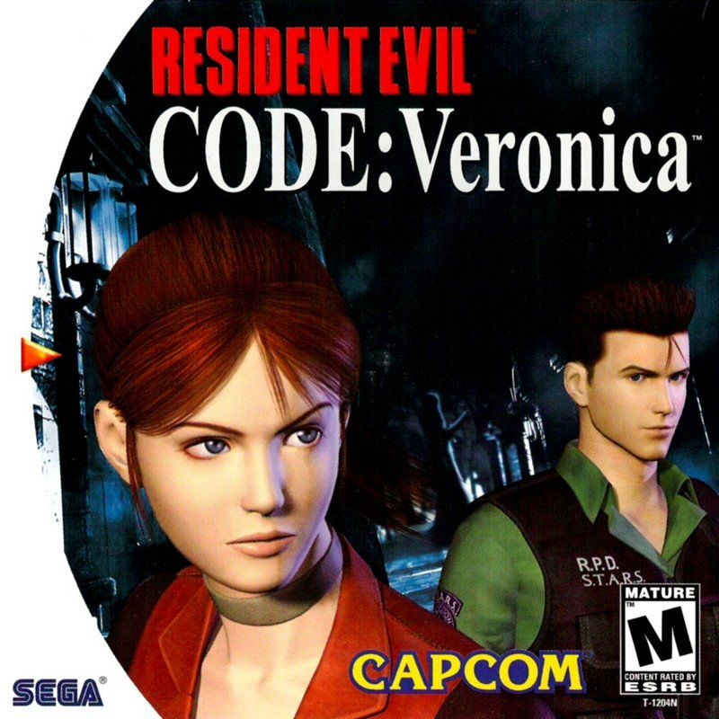 Resident Evil: Code: Veronica Dreamcast Front Cover