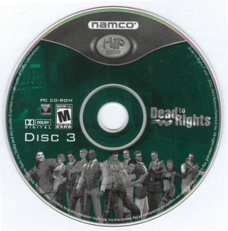 Dead to Rights Windows Media Disc 3