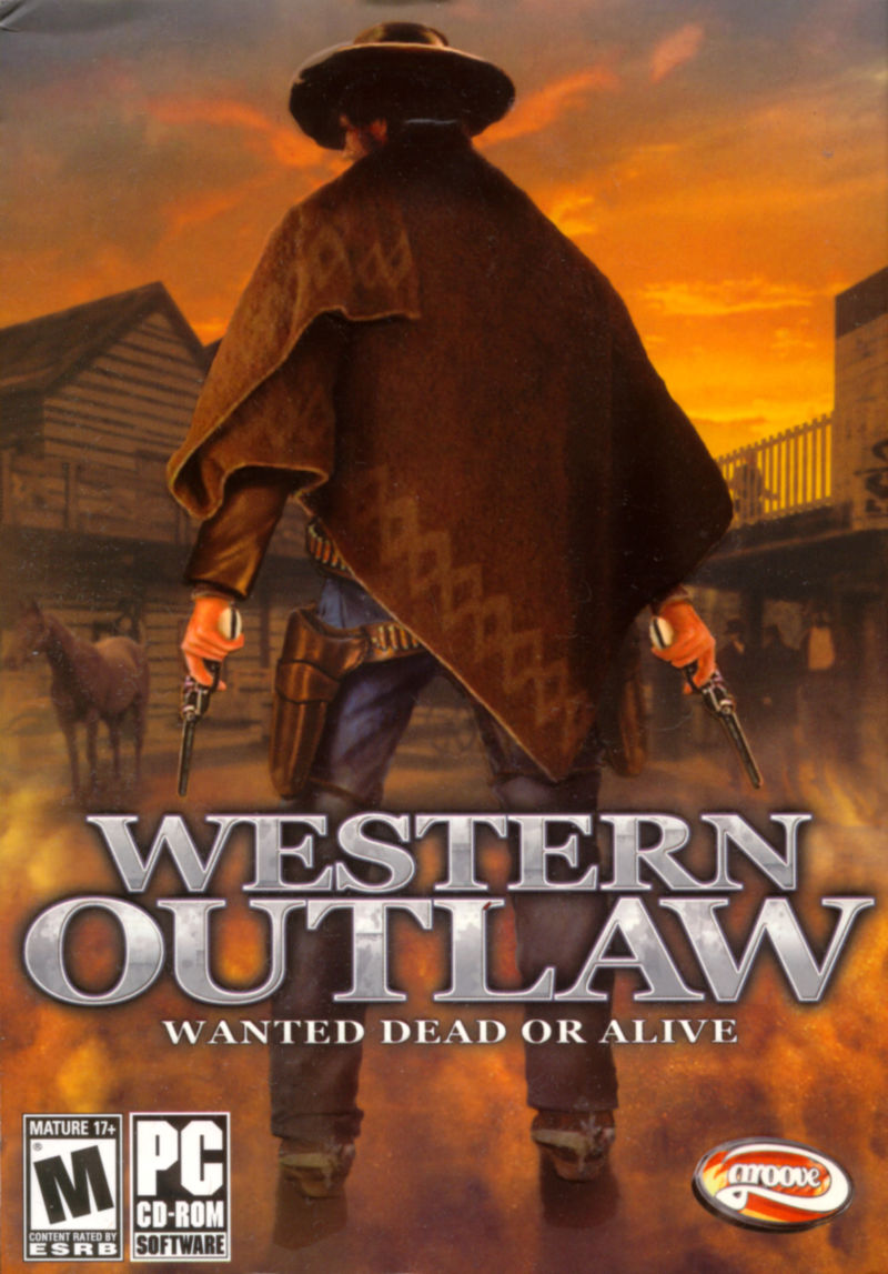 Western Outlaw: Wanted Dead or Alive Windows Front Cover