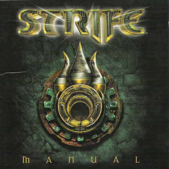 Strife DOS Other Jewel Case: Front Cover